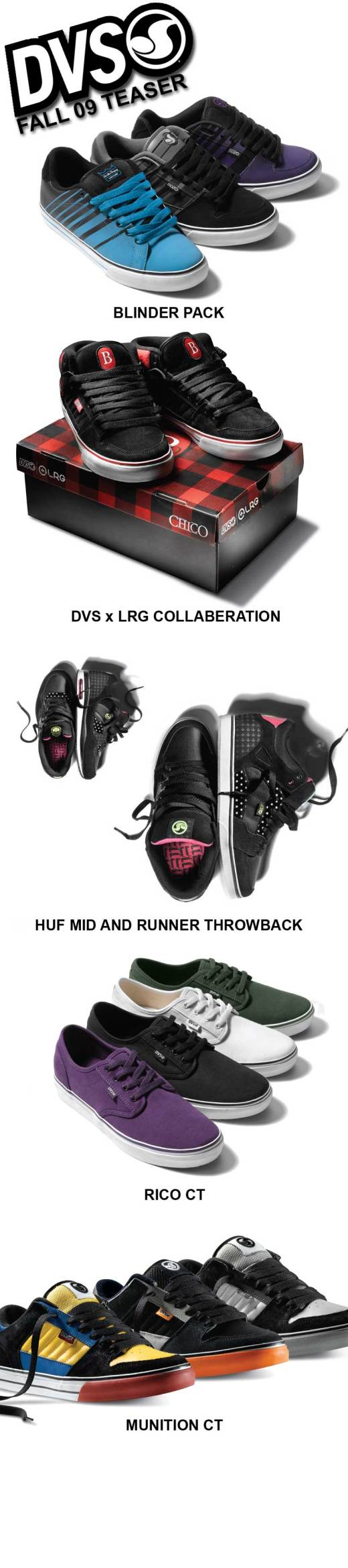 DVS fall 09 preview