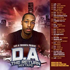 da THE RETURN MIXTAPE